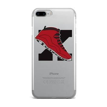LARGE JORDAN 10 BULLS RETRO SHOE EMOJI CUSTOM IPHONE CASE