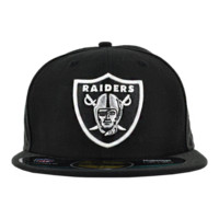 NEW ERA OAKLAND RAIDERS ON FIELD CAP