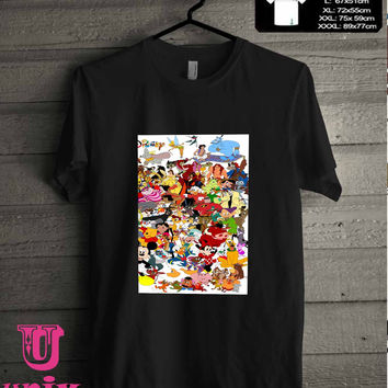 disney character T-Shirt for man shirt, woman shirt **