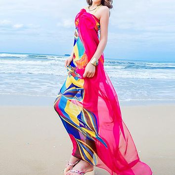 Women Summer Beach Cover Up Dress
