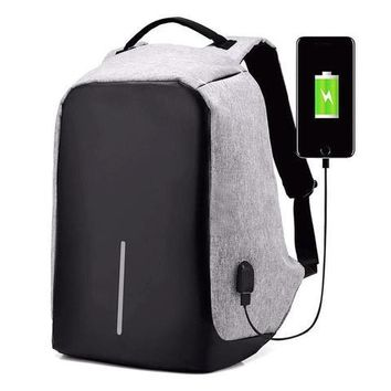 Anti Theft Laptop Backpack USB Charging Port Back Pack
