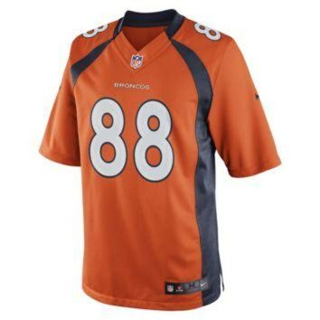 LMFYD9 Nike NFL Denver Broncos (Demaryius Thomas) Men's Football Home Limited Jersey