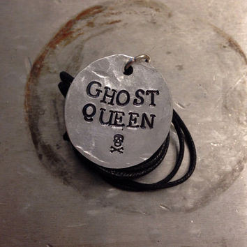 "Percy Jackson Inspired ""Ghost Queen"" Necklace"