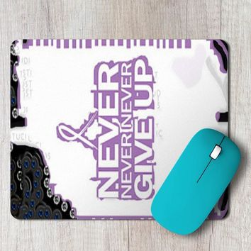 Rectangle Mouse Pad Relay For Life
