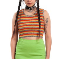Vintage 90's Max Lime Green Mini Skirt - S/M