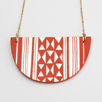 KILIM Necklace Orange