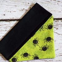 Halloween Pet Bandana-Spiders Extra Small or Small