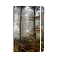 "Iris Lehnhardt ""Forest Mystics"" Brown Gray Everything Notebook"