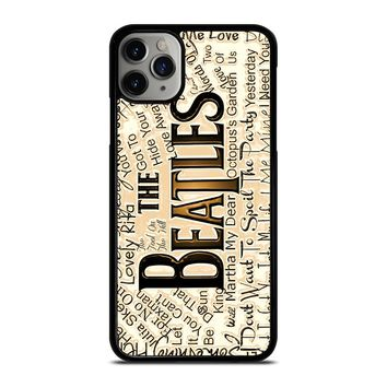 THE BEATLES QUOTE iPhone Case Cover