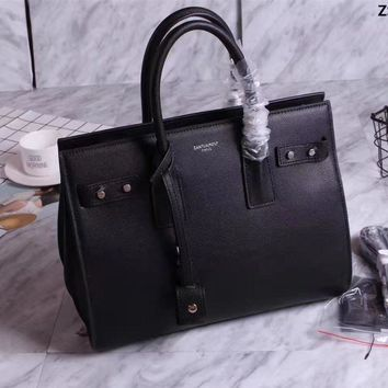 Ysl Saint Laurent Nano Sac De Jour Leather Handbag
