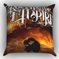 Crown The Empire Z0072 Zippered Pillows  Covers 16x16, 18x18, 20x20 Inches