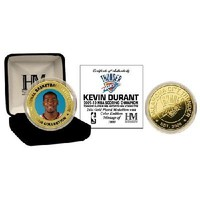 New Kevin Durant 24KT Gold and Color Coin