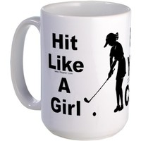 Hit/Girl (Golf 3) Mug
