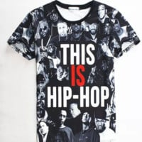 Hip-Hop Graphic Tee