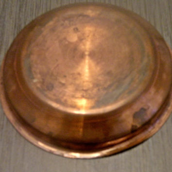 Vintage Small Copper Dish