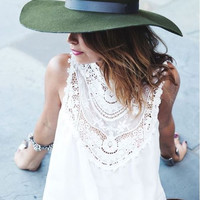 Lace Gypsy Tunic