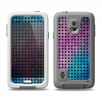 The Vibrant Colored Abstract Cells Samsung Galaxy S5 LifeProof Fre Case Skin Set