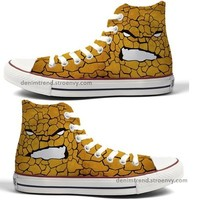 Marvel Custom Converse - The Thing - Free Shipping Hand Painted Shoes from denimtrend ®