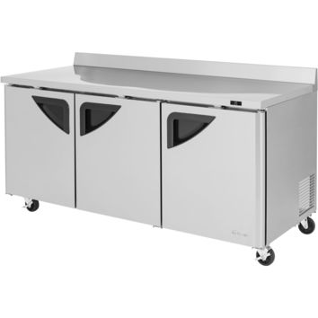 """Turbo Air Commercial Work Top Refrigerator 73"""""""