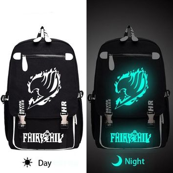 Fairy Tail Glow In The Dark Anime Backpack