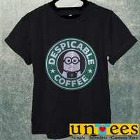 Minion Starbuck Coffee Logo Men T Shirt
