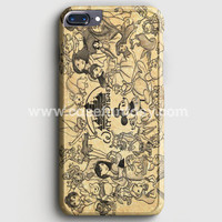 Walt Disney Qoutes iPhone 7 Plus Case | casefantasy