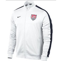 Pro Soccer - Nike USA 2013/14 Authentic N98 Jacket White