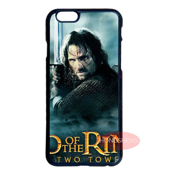 Lord Of Rings Cover Case for LG Samsung S3 S4 S5 Mini S6 S7 Edge Plus Note 2 3 4 5 iPhone 4S 5S 5C 6 6S 7 Plus iPod 5 #8