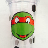 Ninja Turtle Tumbler; Boys; Girls; Cool; Cup; Fun!
