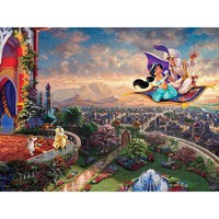 Thomas Kinkade The Disney Dreams Collection Aladdin Jigsaw Puzzle - Puzzle Haven