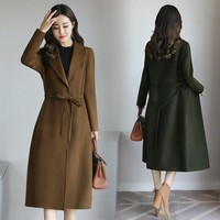 2017 Autumn and Winter Women High Quality Woolen Coat