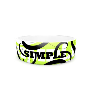 "Roberlan ""Simple"" Lime Green Pet Bowl"