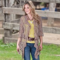Frontier Lace Cardigan