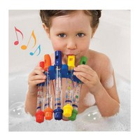 5pcs/1 lot Row New Kids Children Colorful Water Toy Bath Tub Tunes Toy Fun Music Sounds Bath Toy