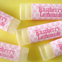 Raspberry Lemonade  - Lip Balm - Natural  - Vegan - No sweeteners  - Bath and body - Lip Butter - Anise
