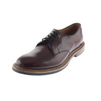 Ben Sherman Mens Harvey Leather Lace-Up Round-Toe Shoes