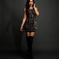 Sale-black Tough Lace Bodycon
