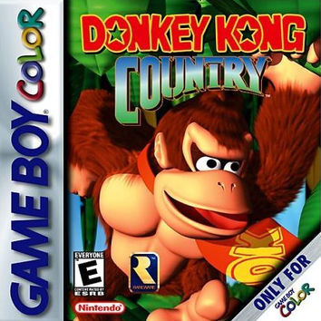 Donkey Kong Country for the Gameboy Color (GBC)