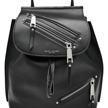 Leather Backpack - Marc Jacobs | WOMEN | US STYLEBOP.COM