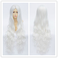 White Cosplay [Kagerou Project] Marry Long Curl Wig CP152914