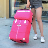 Luggage Bag with Wheels  2PCS  Suitcase Rolling Bag Carry on Baggage Rolling Travel bag with wheels
