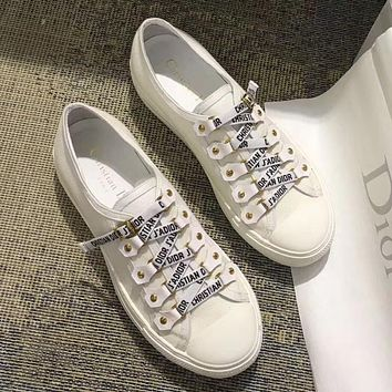 Dior Women Fashion Casual Flats Shoes Sneakers Sport Shoes