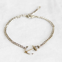 anchor anklet Antique silvery bracelet anklet handmade bracialli Fußkettchen summer trending simple friendship graduation gifts