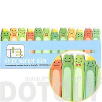 Frog Prince Shaped Animal Themed Sticky Post-it Memo Bookmark Tabs   DOTOLY