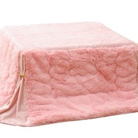 Kawaii Pink Kotatsu Futon Made of Filament Phillips Only Futon No Table 180×180cm