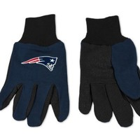 New England Patriots Two-Tone Gloves