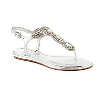Antonio Melani Anabele Jeweled T-Strap Sandals | Dillard's Mobile