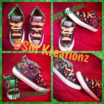 Custom Teenage Mutant Ninja Turtle Chuck Taylor Converse