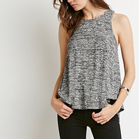 Heathered Racerback Trapeze Top
