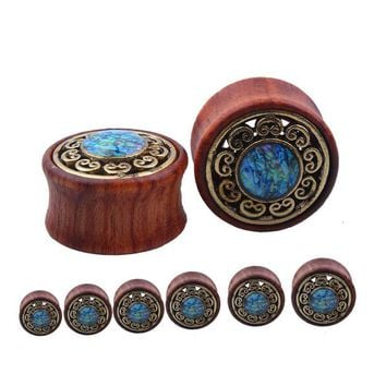 Turquoises Ear Plugs And Tunnels Ear Stretchers